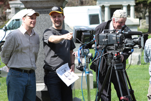 Filmmaking production still